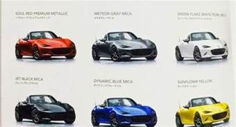 ordering a 2016 mazda mx5 autos post