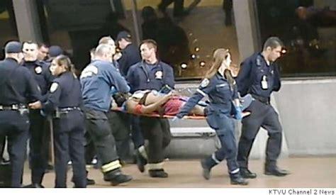 deadly bart brawl officer shoots rider 22 sfgate deadly bart brawl officer shoots rider 22 sfgate