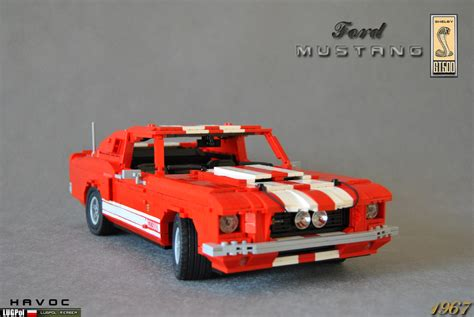 lego ford mustang lego 1967 ford mustang gt500s in multi scales lego
