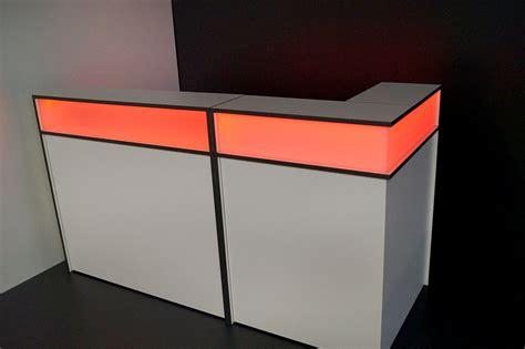 led beleuchtung shop theke mit led beleuchtung 187 eventmoebel koeln loungem 246 bel