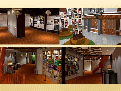 perancangan interior museum musik keroncong interior