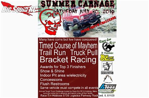 upcoming event summer carnage in rockford illinois 171 big