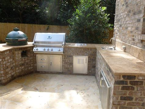 brick outdoor kitchen are outdoor kitchens really practical archadeck of