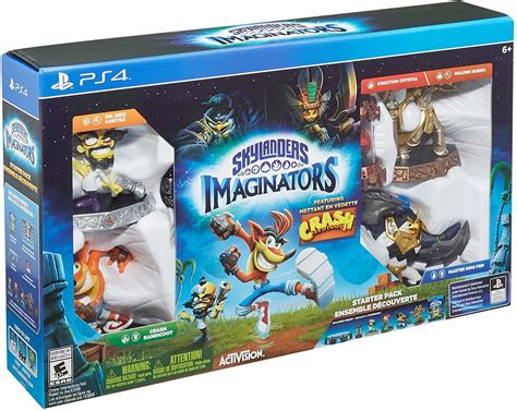 Kaos Army Playstation One activision skylanders imaginators ps4 crash starter pack