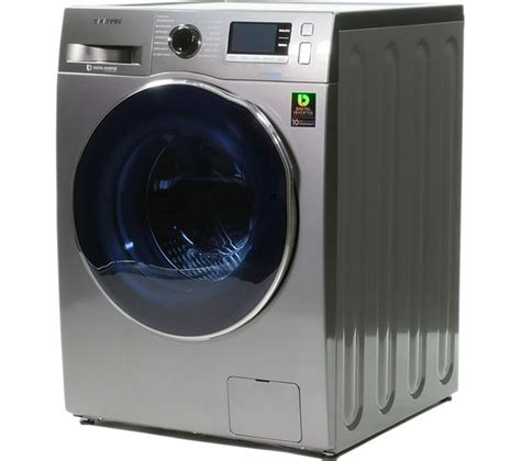 samsung washer and dryer buy samsung ecobubble wd90j6410ax eu washer dryer graphite free delivery currys