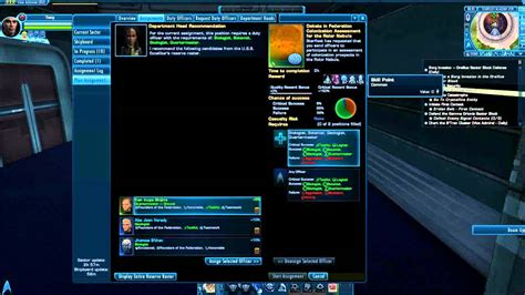 tutorial star trek online star trek online duty officer system tutorial youtube