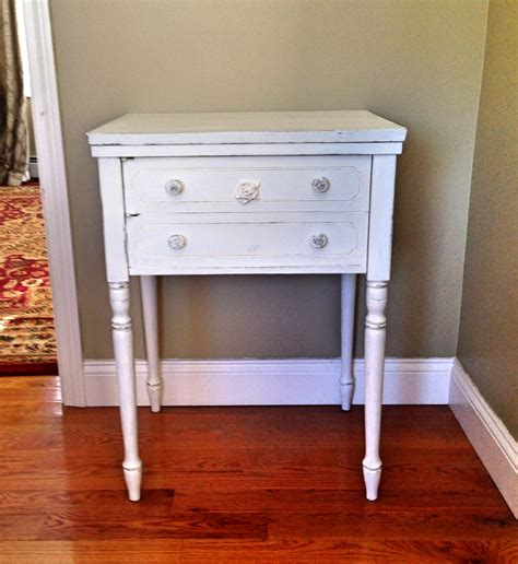 shabby chic accent table haute juice