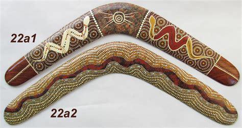 painting boomerang large collectable boomerangs amazing dot