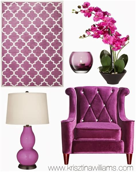 home decor trend 2014 radiant orchid