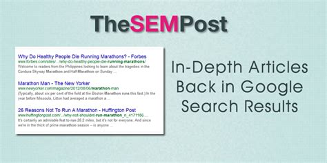 In Depth Search In Depth Articles Return To Search Results