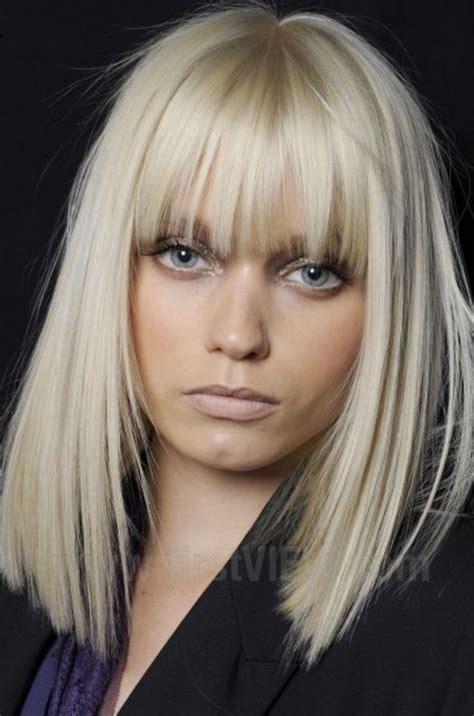 hairstyles blonde with fringe fringe fringe cut pinterest hair style