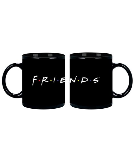 buy coffee mugs india friends black coffee mug buy at best price in
