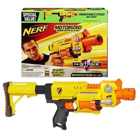 Nerf Ecs 10 Stock nerf n strike barricade rv 10 dart blaster gun hasbro