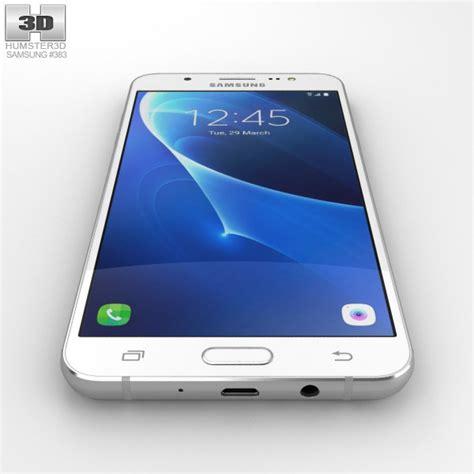 samsung white samsung galaxy j7 2016 white 3d model hum3d