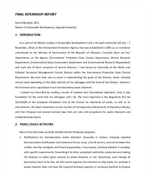 sle cover letter for environmental internship internship report format for engineering all engineer photos