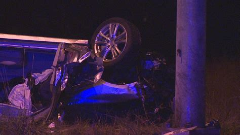 1 injured in woodinville as car flips slams into
