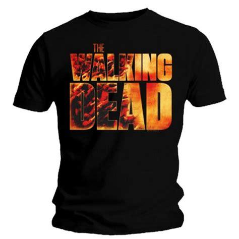 Tshirt Dealdo Merch official t shirt amc s the walking dead vintage logo all sizes