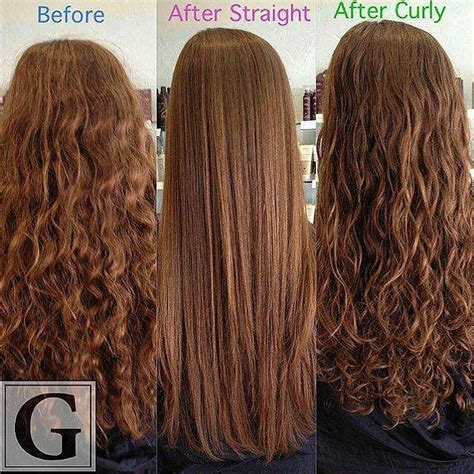 brazilian blowout results on curly hair 1000 images about brazilian blowout before an after on