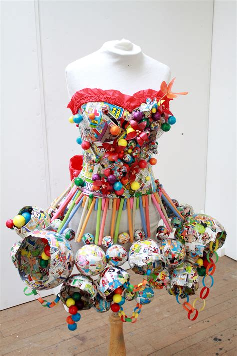 Outens Plight To Make Recycling Fashionable by We Are Feeling Festive With This Fashion Forward Dress
