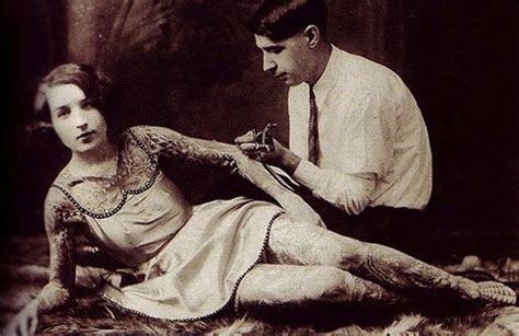 head to toe tattoos vintage photographs of women beauty will save awesome vintage photographs of tattooed women flavorwire