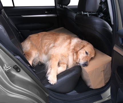car seat extender for pets floppy ears design backseat seat extender