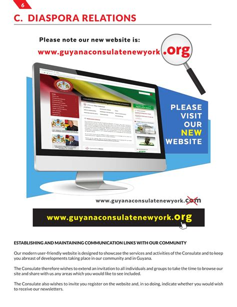 Embassy Newsletter guyana consulate newsletter july 2017 ministry of