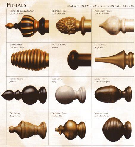 decorative ends for curtain rods curtain poles finials gopelling net