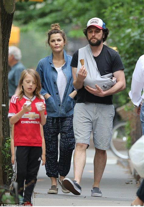 matthew rhys baby keri russell and matthew rhys new baby seen for the first