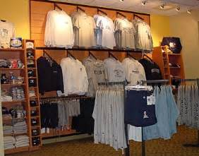 clothing store fixtures sporting goods store retail displays