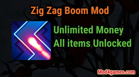 zigzag game mod apk zig zag boom all items unlocked game mod apk free archives