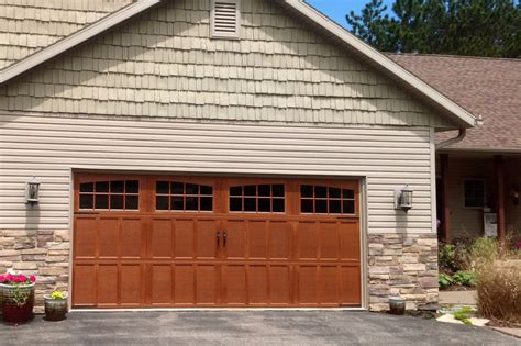 Wide Garage Door by Carriage House Overhead Door Of South Bend Indiana