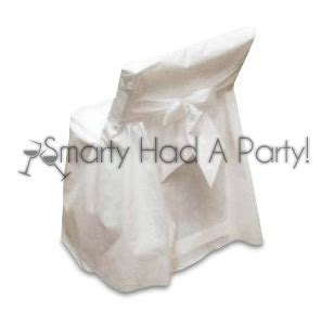 disposable folding chair covers hosting a big event try smarty s white oflin chair covers