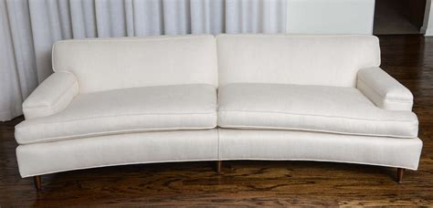Curved White Sofa Curved White Sofa Curved White Italian Sofa At 1stdibs Curved White Italian Sofa At 1stdibs