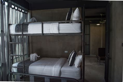 prison bunk bed lockup style spend a bars in bangkok s new prison themed hostel