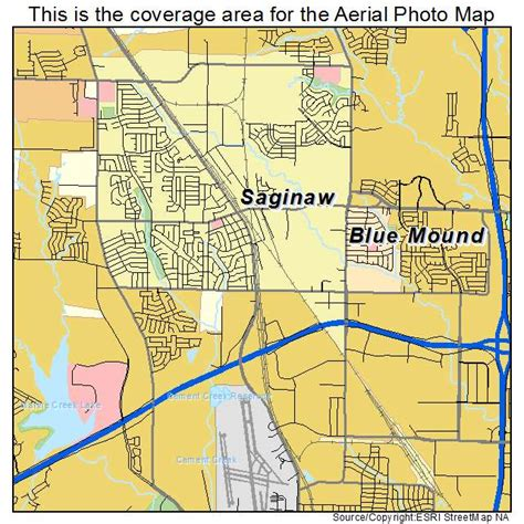 map of saginaw texas aerial photography map of saginaw tx texas