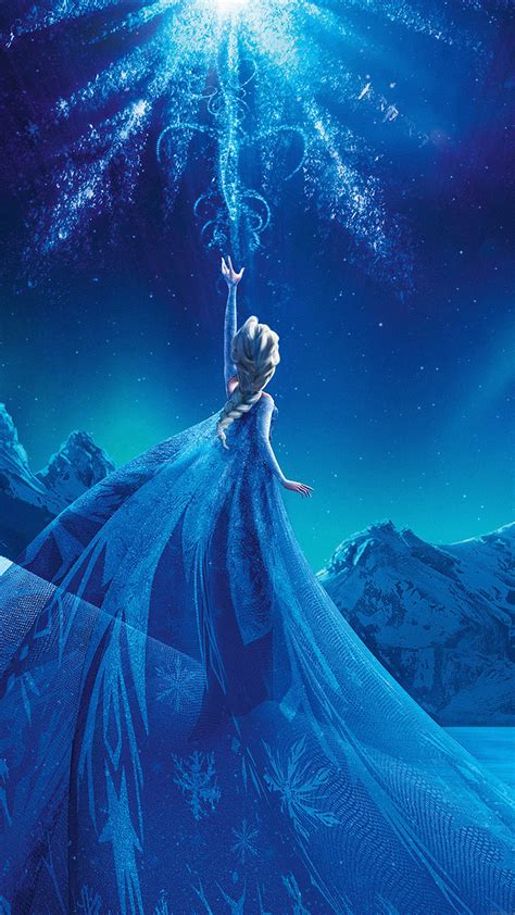 ac wallpaper elsa frozen queen disney illust snow art