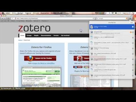 tutorial zotero mac how to use zotero أداة لتنظيم مراجع الابحاث وتوثيقها doovi