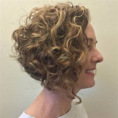 angled bob for curly hair 20 hairstyles and haircuts for curly hair daily
