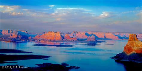 az color lake powell sunset arizona color landscape portfolio