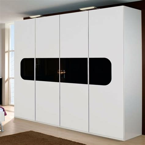 Modern Walnut Cabinets chooses how to right doors for wardrobes interior design