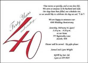 invites for 40th anniversary party 7141cs an