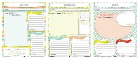 printable learning journal journal for kids life according to me printable book