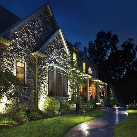 led light design captivating kichler led landscape