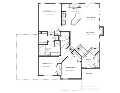 modified bi level house plans canada