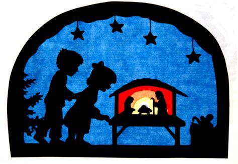 Dawanda Fensterdeko Weihnachten by Winter Fensterbild Weihnachten Transparentbild Ein
