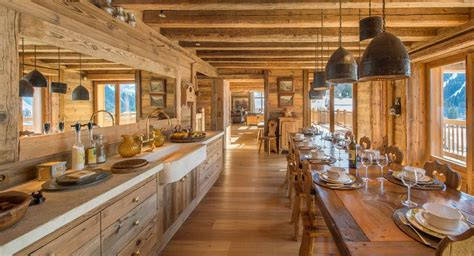 Attrayant Decoration Interieur Chalet Bois #4: 03E8000007837179-photo-salle-a-manger-cuisine-style-montagne-bois-rustique.jpg