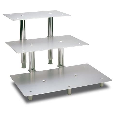 3 tier rectangular display