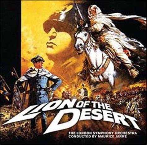film lion of the desert 1981 lion of the desert soundtrack details
