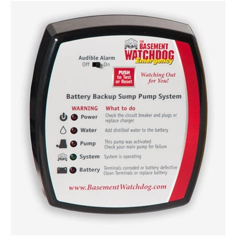 resetting battery backup economical backup solution basement watchdog