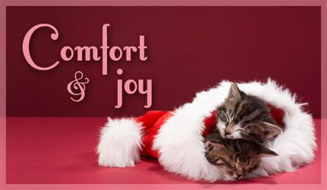 christmas comfort free comfort joy ecard email free personalized